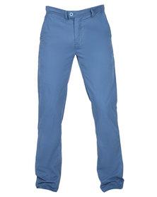 Utopia Chino Long Pants Blue