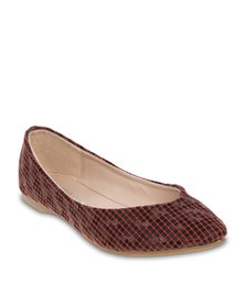 Utopia Pointy Pumps Brown