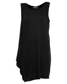 Utopia Floaty Dress Black