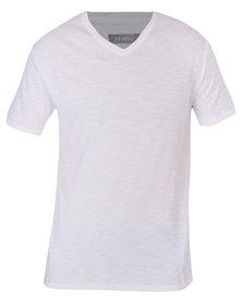 Utopia Basic V-neck Tee White