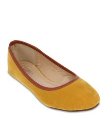 Utopia Plain Pumps Yellow