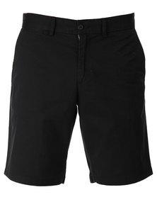 Utopia Chino Shorts Black
