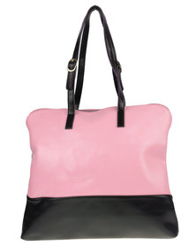 Utopia Two Tone Leather Bag Pink