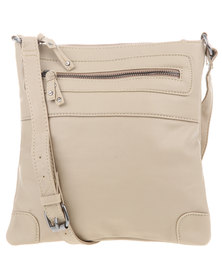 Utopia Cross Body Sling Beige