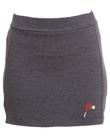 Utopia Fleece Skirt Grey