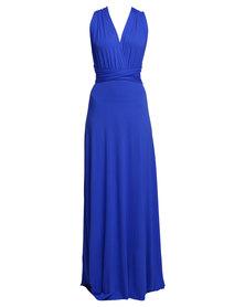 Utopia  Infinity Dress Cobalt Blue