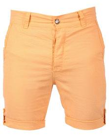 Utopia Linen Shorts Yellow