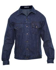 Utopia Armin Denim Jacket Blue
