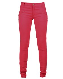 Utopia Club Stretch Pants Coral