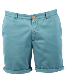 Utopia Chino Shorts Green