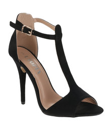 Utopia T-Bar Heels Black