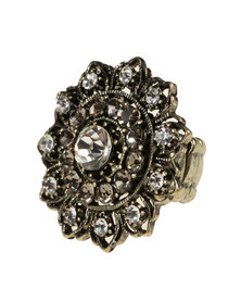 Utopia Baroque Ring Gold-Tone