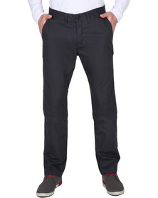 Utopia Smart Casual Chinos Black