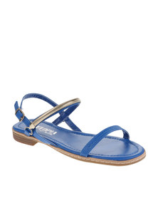 Utopia Trim Sandals Blue
