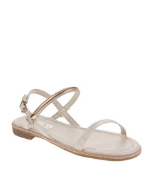 Utopia Trim Sandals Beige