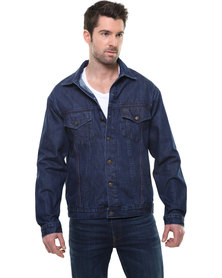 Utopia Armin Denim Jacket Blue