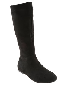 Utopia Plain Suedette Boot