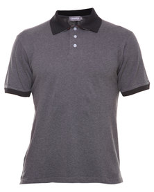Utopia Polo Tee Grey