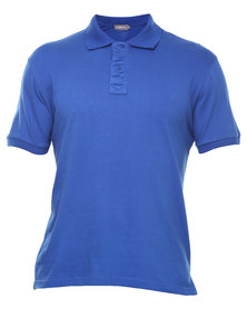 Utopia Polo Tee Royal Blue