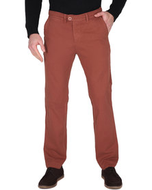 Utopia Chino Long Pants Rust