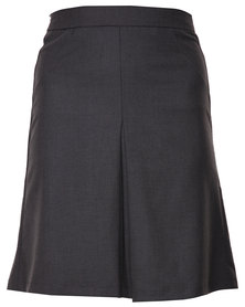 Utopia A Line Skirt with Pleat Grey
