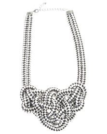 Utopia Rope Knot Necklace Multi