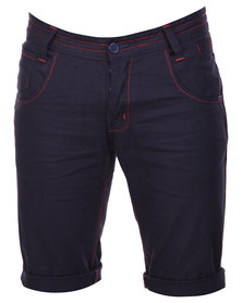 Utopia Linen Shorts Navy