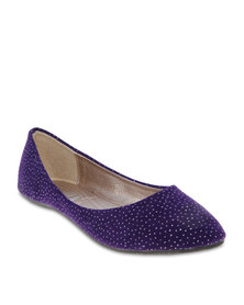 Utopia Sparkle Pumps Purple