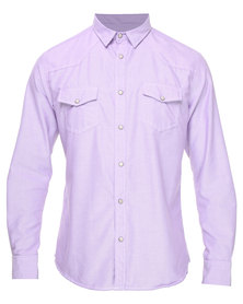 Utopia Western Style Shirt Lilac