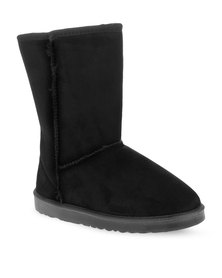 Utopia Mid Calf Boots Black