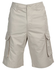 Utopia Cargo Shorts Neutrals