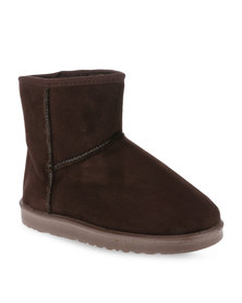 Utopia Ankle Boots Brown