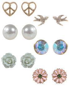 Utopia 6 Pack Studs Earrings Mint