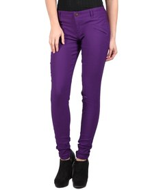 Utopia Club Stretch Pants Purple
