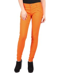 Utopia Club Stretch Pants Orange