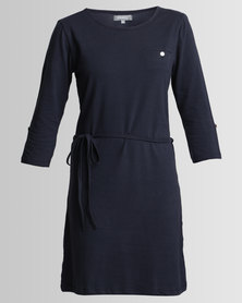 Utopia Tshirt Dress Navy