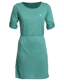 Utopia Tshirt Dress Emerald