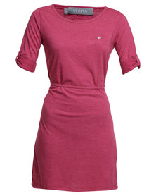 Utopia Tshirt Dress Pink