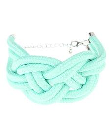 Utopia Rope Knot Bracelet Green
