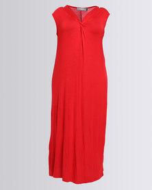 Utopia Plus Aline Dress Red