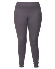 Utopia Plus Basic Leggings Grey