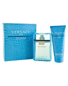 Versace Man Fraiche 100ml EDT & 100ml Shower Gel Gift Set