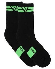 Versus Socks Double Green