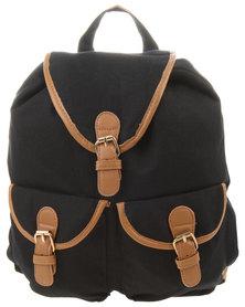 Vikson Canvas Backpack Black