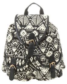 Vikson Tribal Print Backpack Multi