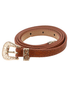 Vikson Belt With Buckle Tan