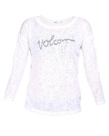 Volcom Strand Knitwear Ivory