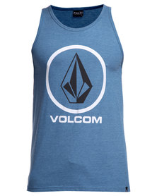 Volcom Circle Staple Vest Blue