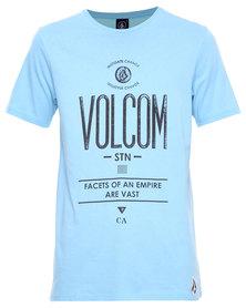 Volcom Fontivarious SC T-Shirt Blue