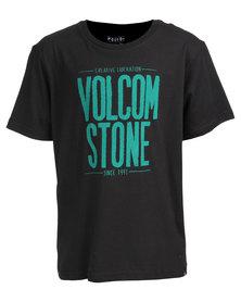 Volcom Boys Heist T-Shirt Black